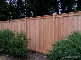 Backyard Fence Styles by Fence Ideas For Small Backyard Garden Design