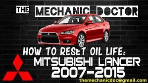 mitsubishi fuso service light reset how to reset oil light mitsubishi lancer 2007 2008 2009 2010