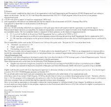 Resume Star Clarification Star Program Announcement University Of