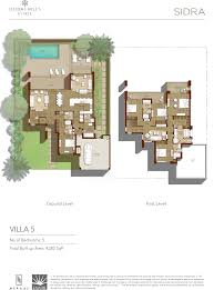 Palm Jumeirah Floor Plans by Floor Plans Sidra At Dubai Hills Estate By Emaar