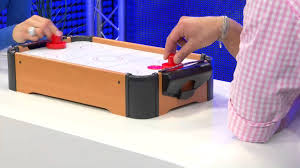Best Air Hockey Table by Playtastic Mini Air Hockey Im Tischformat Youtube