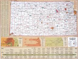 Kansas State Map Kansas State Political Map