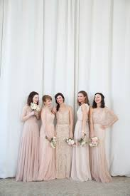 matching wedding dresses best 25 mix match bridesmaids ideas on mixed