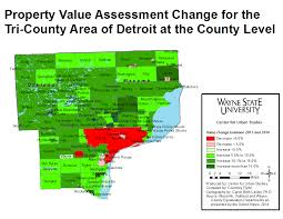 Oakland County Michigan Map by Property Values Increase Throughout Wayne And Neighboring Counties
