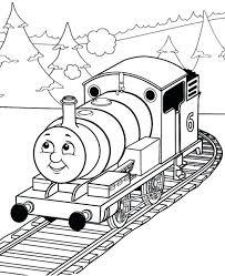 thomas tank coloring pages engine james hiro train thomas