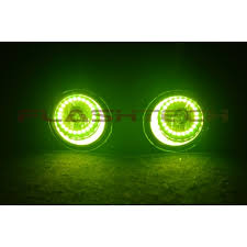 2016 toyota tundra fog light bulb toyota tundra v 3 fusion color change led halo fog light kit 2014