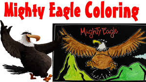mighty eagle coloring coloring book coloring angry birds youtube