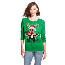 cute ways to wear an ugly christmas sweater teen vogue