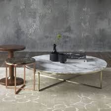Cb2 Marble Coffee Table Smart Marble Top Coffee Table Cb2 In White Prepare 0