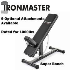 Super Bench Ironmaster 7 In 1 Weight Bench Gym U0026 Fitness Gumtree Australia Inner