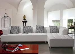 White Leather Living Room Furniture Modern White Leather Sofa Great Living Room Furniture Set Grezu