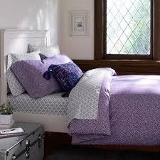Duvet Cover Purple Mini Dot Duvet Cover Pillowcases Pbteen