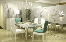 modern dining room in stylish and artistic design amaza design
