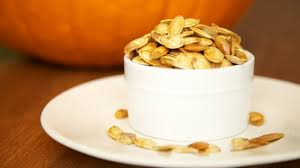 Toasting Pumpkin Seeds Cinnamon Sugar by How To Roast Pumpkin Seeds Recipe Youtube