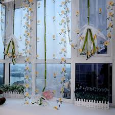 Daisy Kitchen Curtains by Online Get Cheap Daisy Kitchen Curtains Aliexpress Com Alibaba