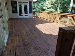 Longest Lasting Cedar Deck Stain by Marietta Deck Staining Sealing Painting Woodstock Cobb