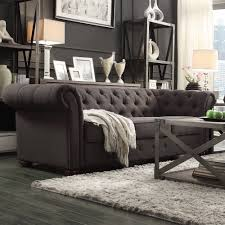 sofas chesterfield style sofas center gray chesterfield sofa with accent furniture grey
