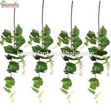types of ornamental plants artificial plastic vines artificial