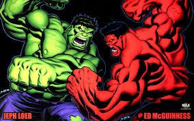 hulk red hulk grey hulk
