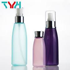 Toner Oval bottles shape bottles high quality plastic container