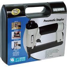 Best Staple Size For Upholstery Surebonder Pneumatic Staple Gun Model 9600 Air Nailers