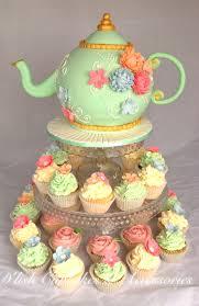kitchen tea cake ideas bridal shower tea pot cake and cupcakes kitchen tea d lish