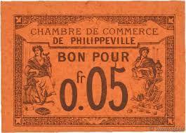 chambre de commerce var 5 centimes regionalism and miscellaneous philippeville 1915