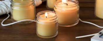 how to make natural wax candles
