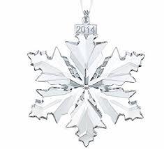 swarovski annual edition 2014 snowflake ornament