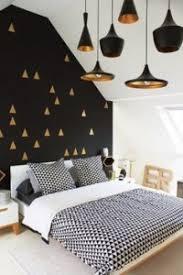 deco de chambre noir et blanc décoration noir blanc or e interiorconcept
