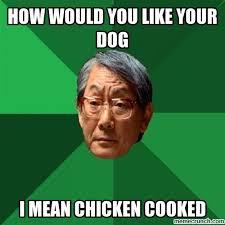 Asian Dog Meme - asian
