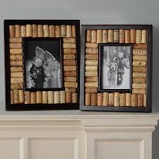 wine cork picture frame kit collection espresso finish wine