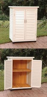 diy outdoor storage cabinet diy outdoor buffet 2 ikea metal cabinets and a custom tiled top