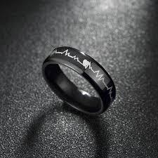 aliexpress buy u7 classic fashion wedding band rings fashion design men titanium ring ring high quality black