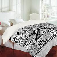 Tribal Print Bedding Black And White Tribal Bedding On The Hunt