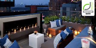 Top Bars Nyc Rooftop Bars Above 6 Bar At 6 Columbus Hotel New York Retail