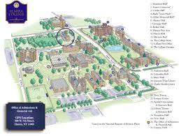 Columbia University Campus Map Home Elmira College