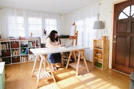 Art Studio Desk by Hip And Modern Mobile Home Decor Mobile And Manufactured Home Living