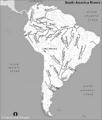 map of and south america black and white free south america rivers map black and white rivers map black