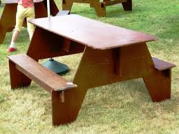 How To Make A Picnic Table Out Of 1 Sheet Of Plywood by Specific Plywood Picnic Table 89 By Beautiful Picnic Tables Tips