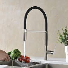 black faucet with stainless steel sink top 23 best kitchen faucets heap home products