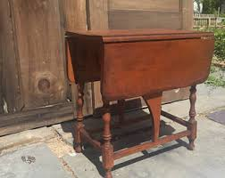 Antique Drop Leaf Table Antique Drop Leaf Table Primitive Kitchen Table French