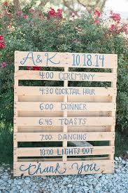 rustic wedding ideas wedding dj atmosphere productions pallet sign