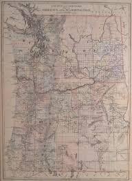 Washington Highway Map by Antique Maps Of Washington