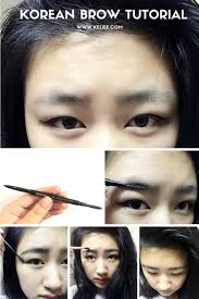 How To Pencil In Eyebrows Korean Straight Brow Tutorial U2013 It U0027s Keliee