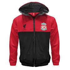 liverpool fc official football t boys shower jacket windbreaker