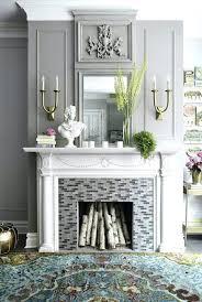 elle decor fireplace mantels holiday tuscan mantel decorative