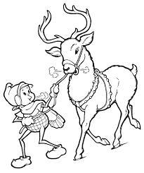 drawn reindeer xma pencil color drawn reindeer xma