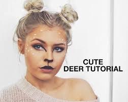 the 25 best deer makeup ideas on pinterest deer halloween
