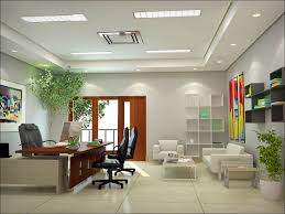 elegant office decor with modern small office space for